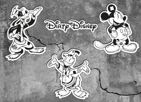 Dirty Disney by ElBurito