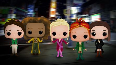 2 Become 1 Spice Funko Pop! by xerrife