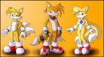 Tails New look commission by DarkFoxProjectX