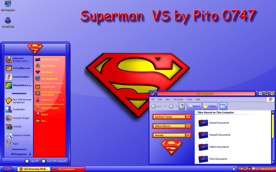 Superman vs for XP by pito0747