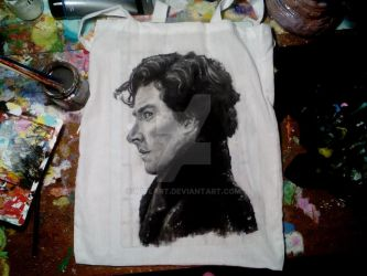 Bag with Sherlock by Witlart