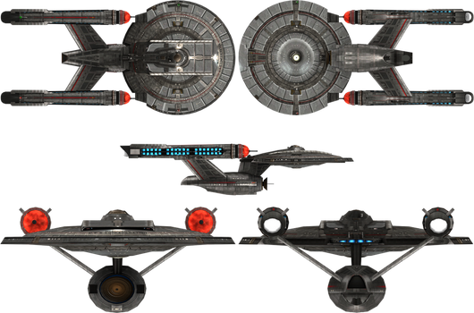 Confederation Class by admiral-horton
