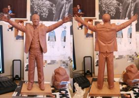 Bill Shankly work in progress by chriswalsh