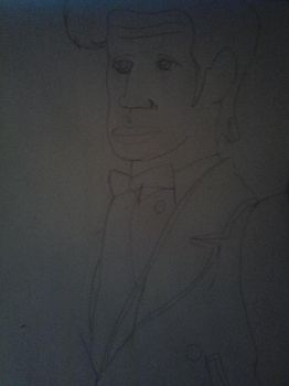 the doctor contour drawing by versal1