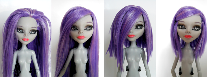 Anita Boogie doll - Hairstyle WIP by kayinthesky