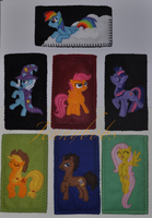 MLP:FIM phone case collection by Blindfaith-boo