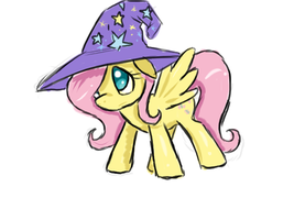 THE GREAT AND POWERFUL fluttershy by ACharmingPony
