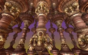Solomans Tomb Steampunked by GrannyOgg