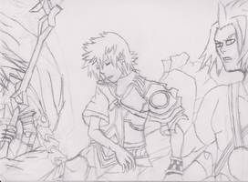 Kingdom Hearts Birth by Sleep Final Mix cover WIP by Dan-Shattered-Heart