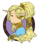 Iridae colored by Yuli-chan