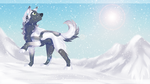 Through the snowy fields ~ AT ~ by Zeven-Dust
