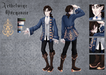 Aethelwine's reference sheet by quenavair