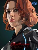 Avengers Age of Ultron Black Widow by derianl