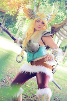 Valkyrie Mercy Cosplay - Overwatch by LittleClockworkDoll