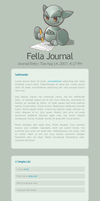 Fella Journalskin by janvanlysebettens