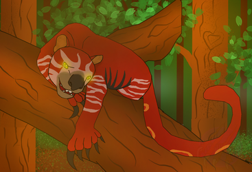 Bloody Mary the Thylacoleo by kittykc1997mcmlp