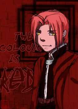 -FMA- The Colour is RED by Azremodehar