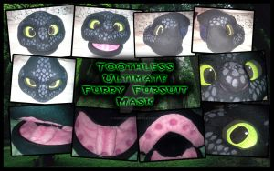 Toothless Mask - MAYBE one of the best by TheBandicoot