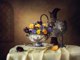 Still life in the old style by Daykiney