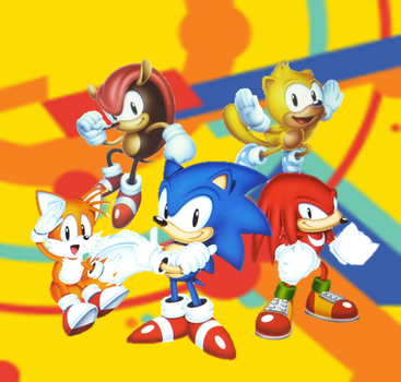 Sonic Mania Adventures Wallpaper by 9029561
