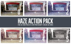 Haze Action Pack by StacheActions