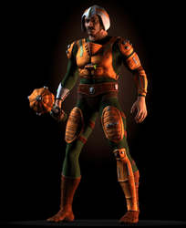 MOTU - Man-At-Arms - Turntable GIF 1 by paulrich