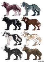 Adopt Batch: TWO LEFT by GypsyFate