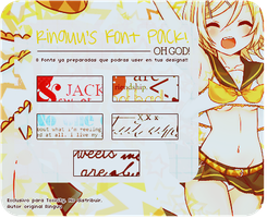Pack FONTS o PNGS o como sea by Ringuu