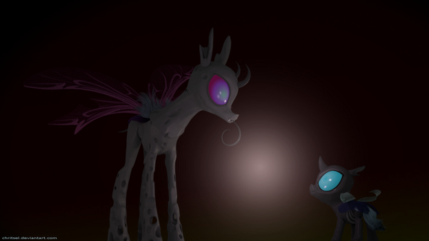 A 'wholey' different kind of changeling by Chritsel