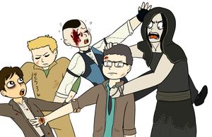 Outlast Squad by feraIigatrs