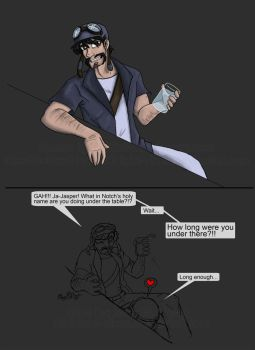 Yogscast: Lysander .:Art Request Colored:. by MidNight-Vixen