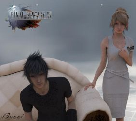 Final Fantasy XV - Among Friends by l3unni