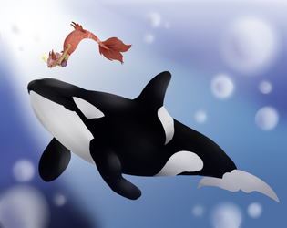 Day 12: Whale by CatPuff