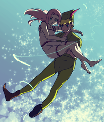 Peter Pan- NaruSaku by Samr0iD