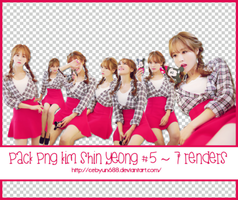 PACK PNG KIM SHIN YEONG #5 ~ 7 RENDER by CeByun688