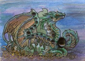 ACEO Dragon 11 by rachaelm5