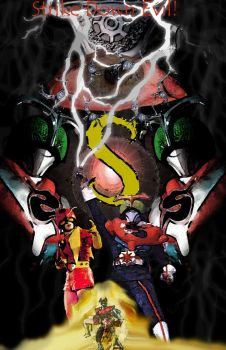 Kamen Rider Stronger Tribute by TheShadowGuardian17
