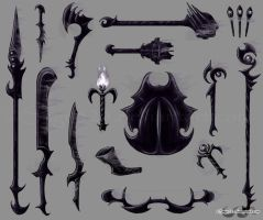 Abyssal Weapons by sage525
