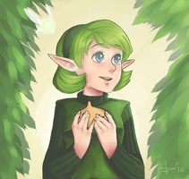 Saria by waffle-empress