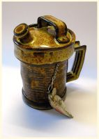 Gas Can Cup - left side by CreativelyStrange