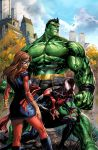 Marvel Champions #1 Variant Cover by arf
