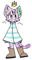 poncho kitty by towerfallascension