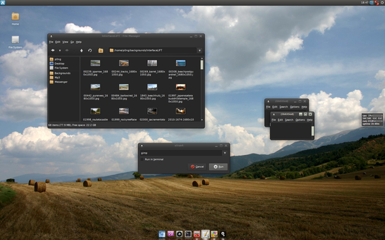eco-dark for XFCE by p0ngbr