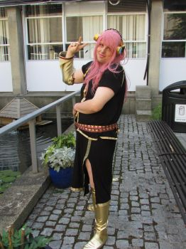 Vocaloid - Megurine Luka cosplay (3) by DILLIGAF-Otaku
