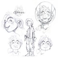 Alfonse Redesign - Sketches by nicholaskole