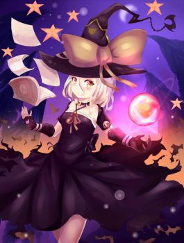 Ui Hakim  - witch ^3^ by SollAA