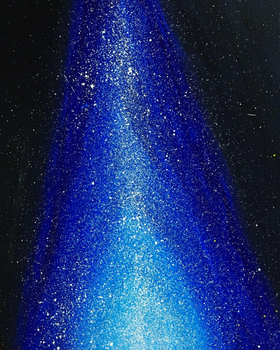 Starry Sky - Acrylic Painting by emi1296