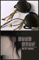 ''Rock star'' headphones by Ketchupize