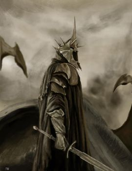 Witch-king of Angmar by MkFlrs