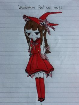 Red sea witch Wadanohara by Sonicraft16